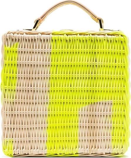 Natasha Zinko straw crossbody bag