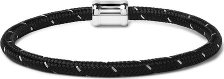 Miansai Silver-Tone, Nylon and Steel Rope Bracelet