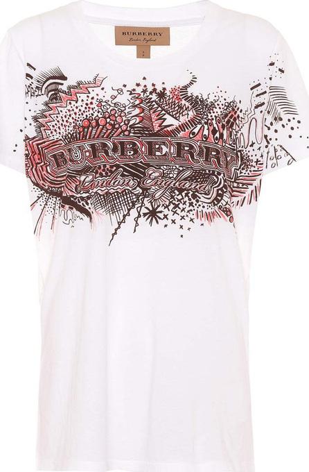 Burberry London England Doodle print cotton T-shirt