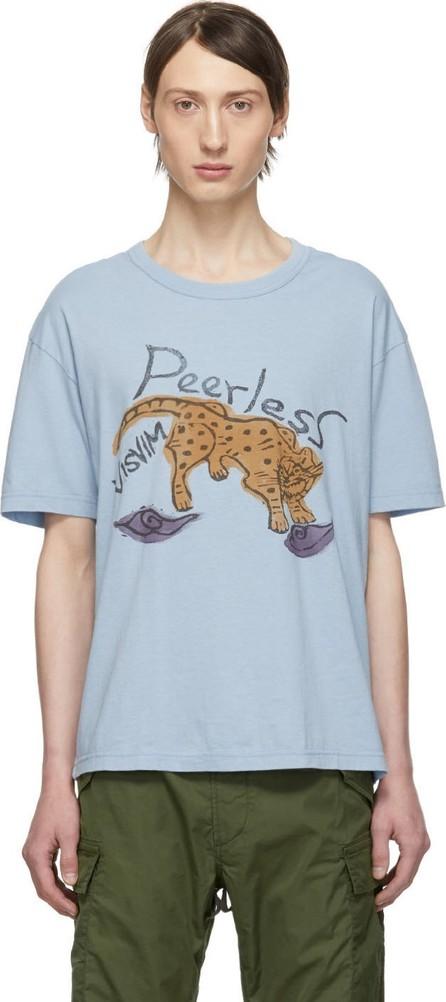 Visvim Blue Peerless Jumbo T-Shirt