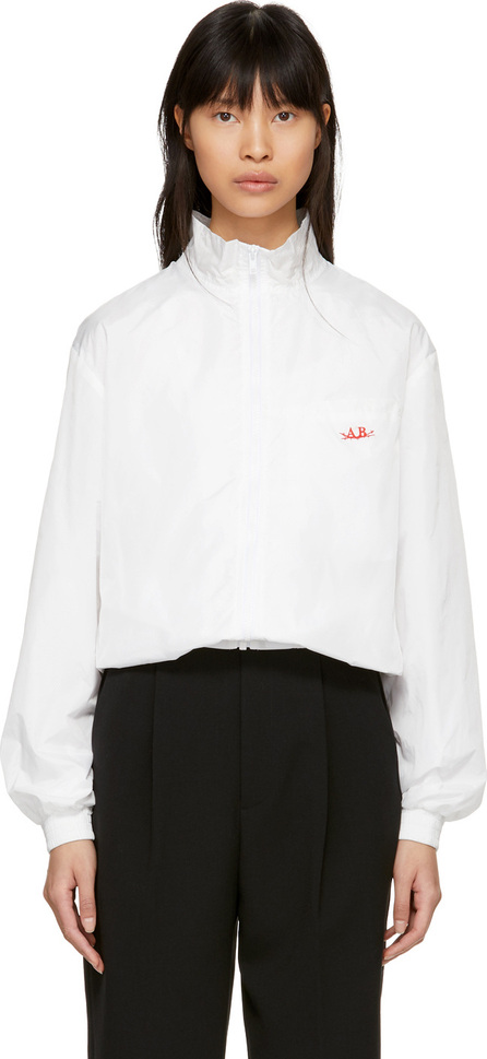 Anton Belinskiy SSENSE Exclusive White Satin Jacket