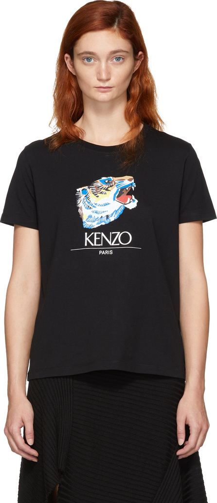 KENZO Black Tiger Head T-Shirt