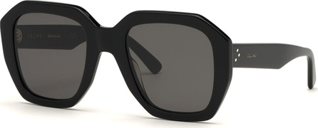 Celine Square Adjusted-Fit Acetate Sunglasses