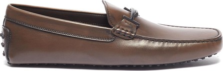 Tod's 'Double T Gommino' leather driving shoes
