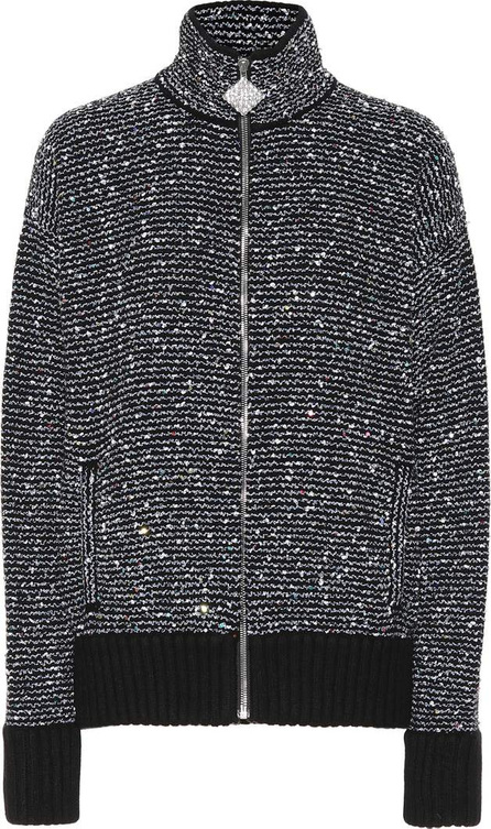 Alessandra Rich Sequined cashmere-blend jacket