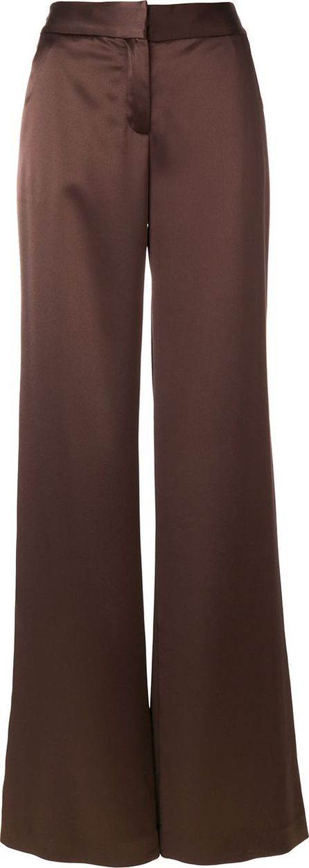 Gianluca Capannolo satin palazzo trousers