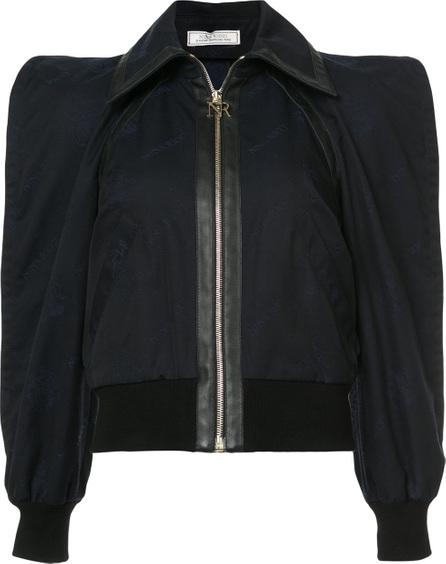 Square shoulder jacket