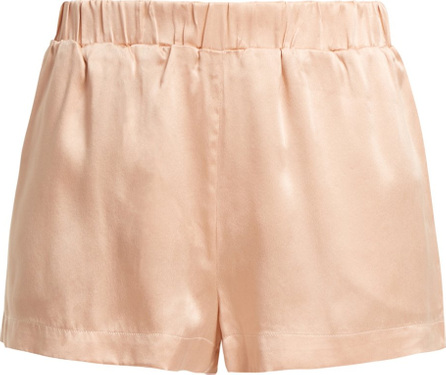 Asceno Silk pyjama shorts