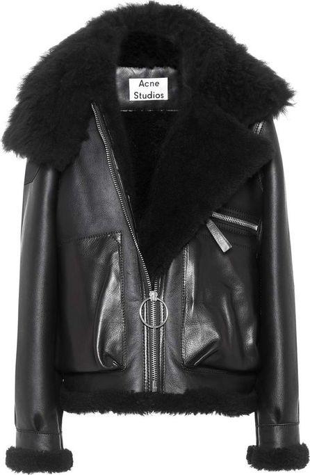 Acne Studios Lore leather jacket