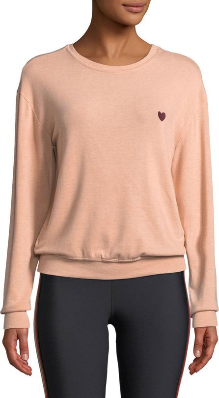 Spiritual Gangster Give Love Graphic Crewneck Pullover Sweatshirt