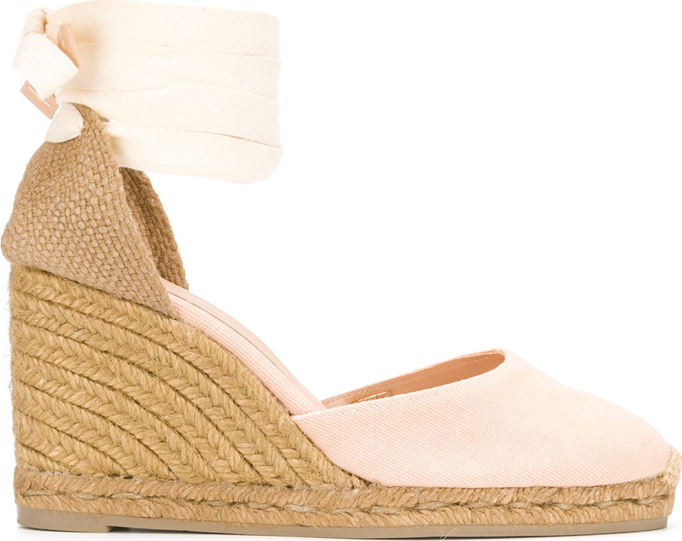 Castaner - Woven wedge sandals