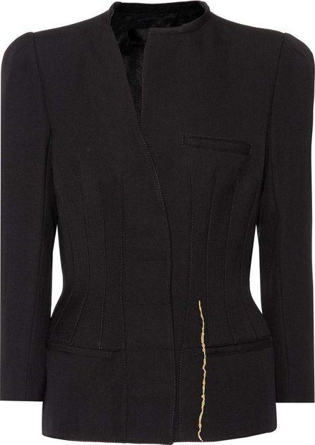 Haider Ackermann Embroidered virgin wool jacket
