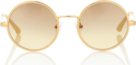Dries Van Noten X Linda Farrow round sunglasses