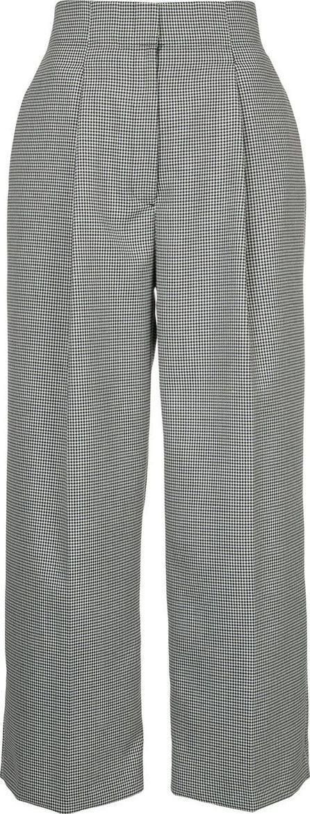 Estnation flared tailored trousers