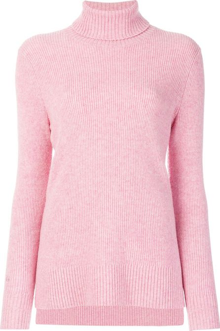 Ganni Turtle-neck fitted sweater