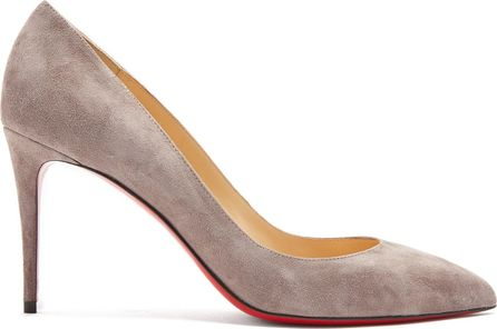 Christian Louboutin Pigalle Follies 85mm suede pumps