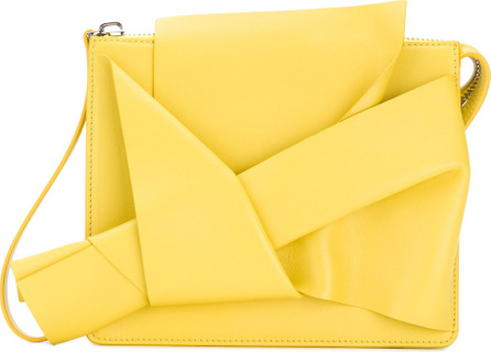 Nº21 Abstract bow clutch bag