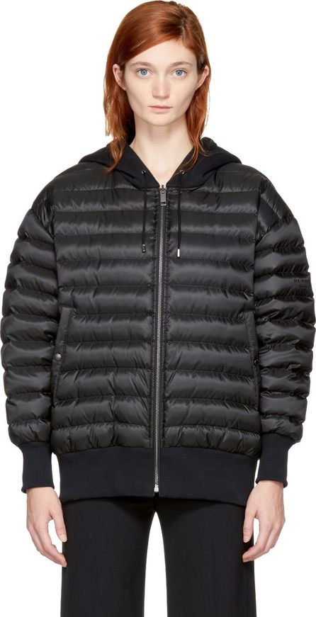 Burberry London England Reversible Black Down Langleigh Jacket