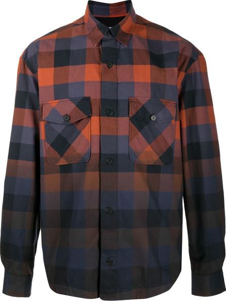 KENZO Gradient plaid shirt