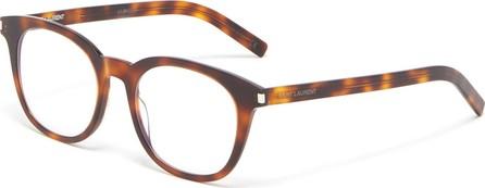 Saint Laurent Tortoiseshell acetate square optical glasses