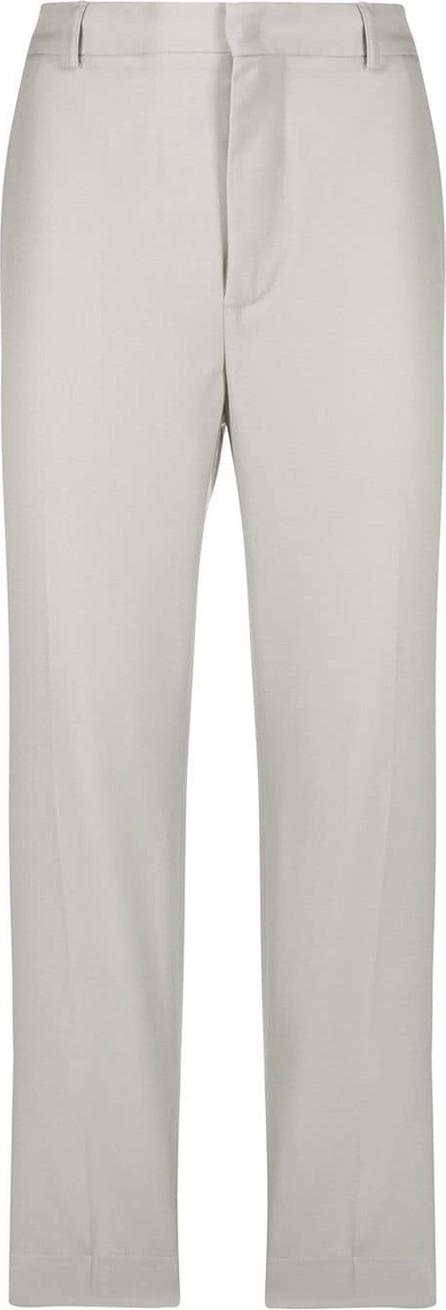 Maison Flaneur Cropped cotton trousers