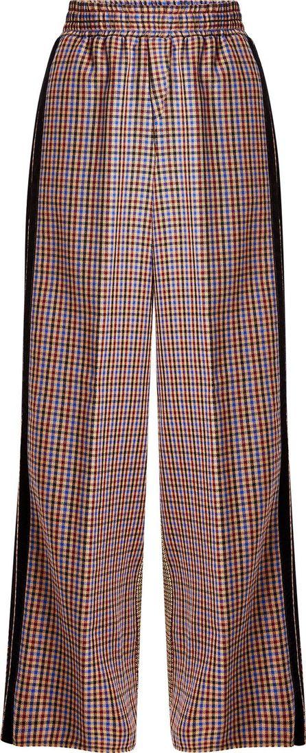Golden Goose Deluxe Brand Printed Pants with Fleece Wool