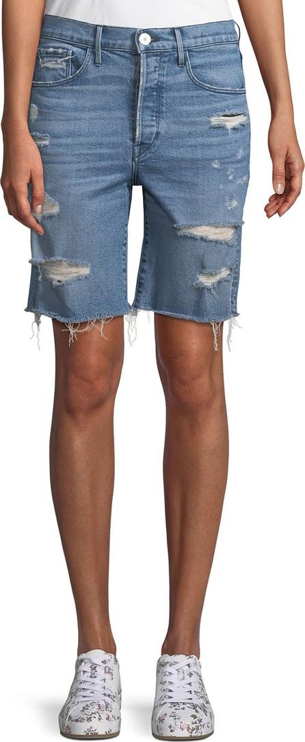 3X1 W3 Ryder Knee-Length Shorts