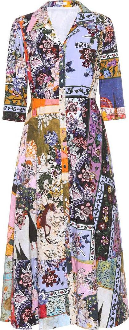 Erdem Kasia printed cotton dress