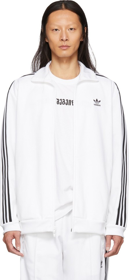 Adidas Originals White Franz Beckenbauer Track Jacket