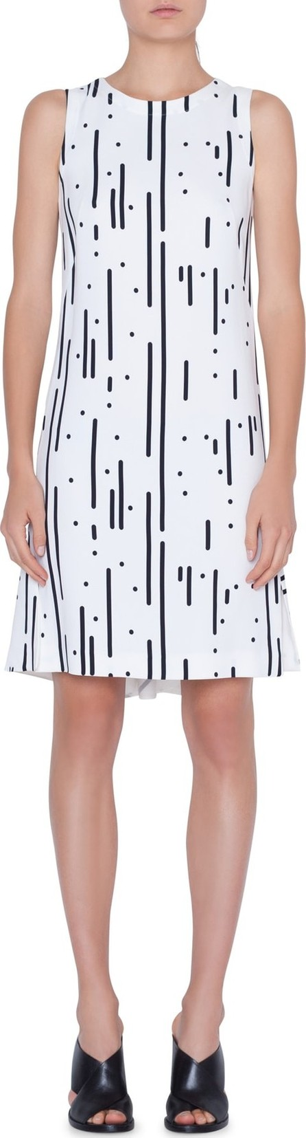 Akris Punto Lamiera Print Shift Dress