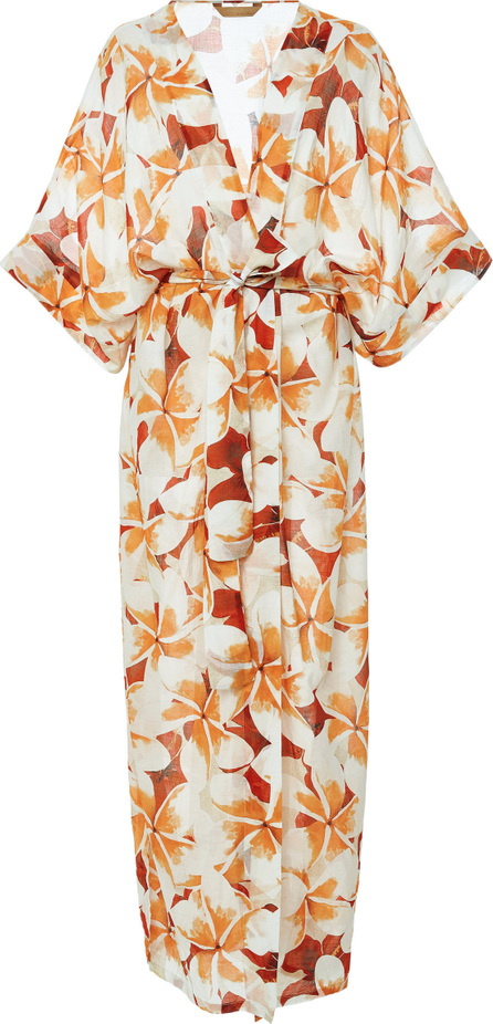 Agua de Coco by liana thomaz Jasmin Floral Long Tunic