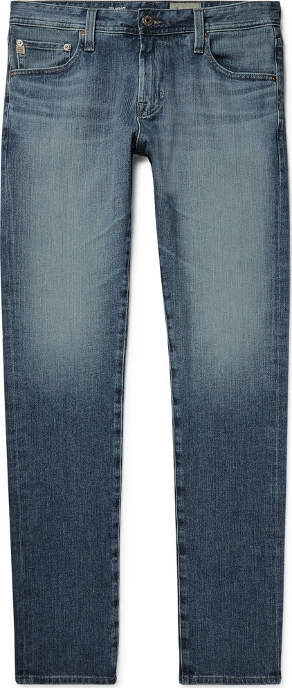 AG Jeans Dylan Skinny-Fit Stretch-Denim Jeans