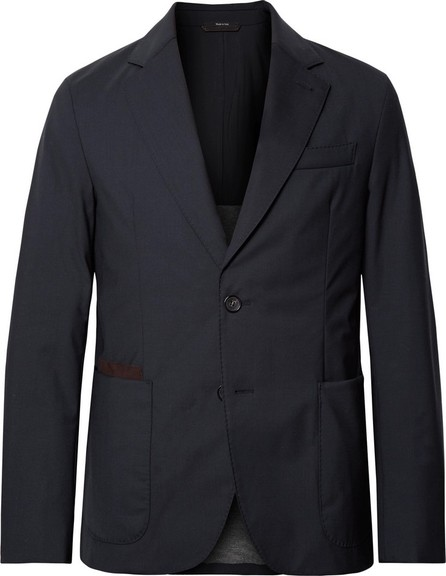 Ermenegildo Zegna Navy Slim-Fit Elements Trofeo Tech-Wool Blazer