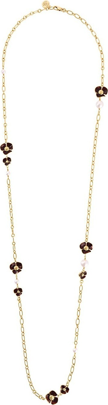 b7585901f718 Tory Burch Fleur Rosary Necklace - Necklace Wallpaper Gallerychitrak.Org