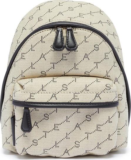 Stella McCartney 'Monogram' embroidered mini backpack