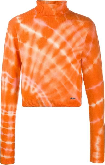 Aries Cropped tie-dye jumper