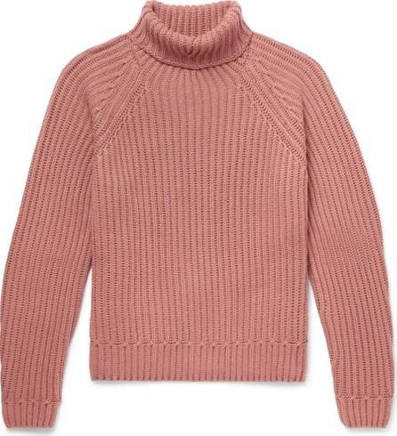 Berluti Ribbed Cashmere Rollneck Sweater