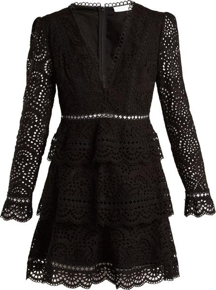 Zimmermann Tali embroidered cotton dress