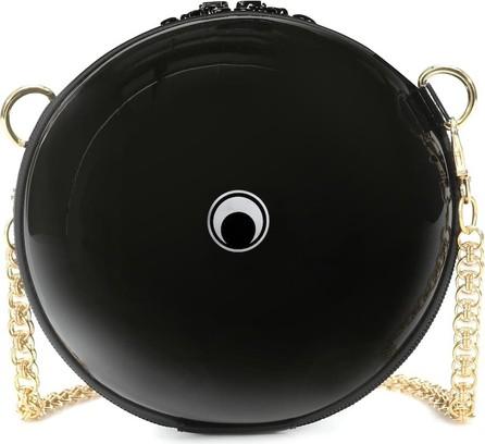 Marine Serre Dream Ball rubber shoulder bag