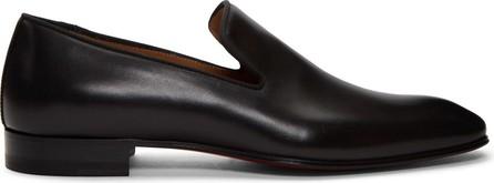 Christian Louboutin Black Dandelion Flat Loafers