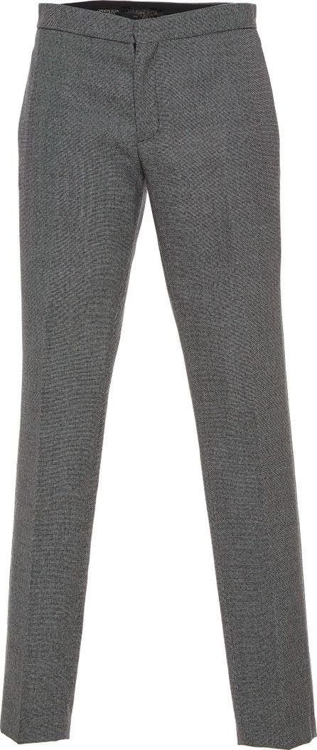 Giambattista Valli Mid-Rise Straight Leg Wool Trousers