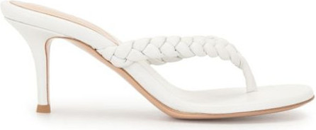 Gianvito Rossi Braided mid-heel sandals