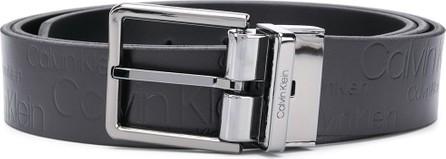 Calvin Klein Embossed logo belt