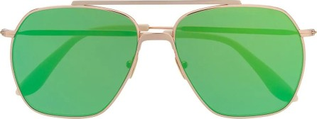 Acne Studios Green metal sunglasses