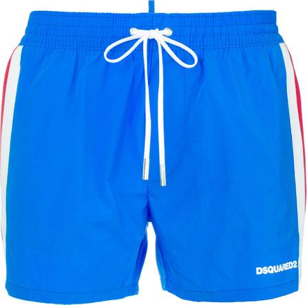 DSQUARED2 Side stripe swim shorts
