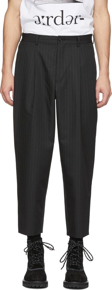 Comme des Garçons Homme Deux Black Striped Trousers