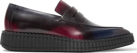 Berluti Andy Demesure Venezia Leather Loafers