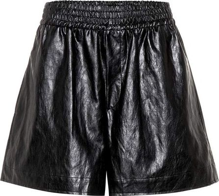Golden Goose Deluxe Brand Faux-leather shorts