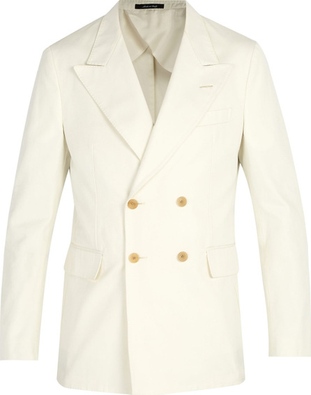 Dunhill Double-breasted cotton blazer