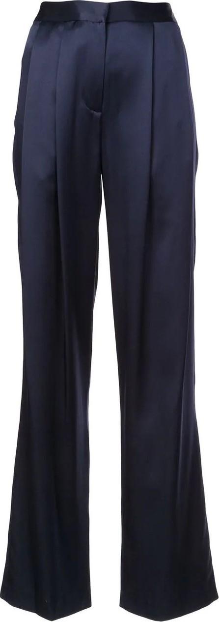 Adam Lippes Silk Pleated Trousers